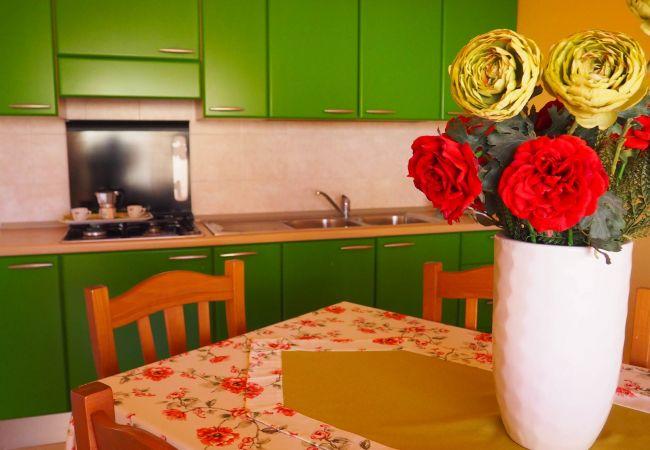 Appartamento a Isola di Capo Rizzuto - CASA VACANZE CALABRIA  : Mare Chiaro Verde