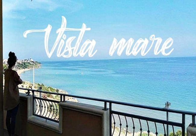 Appartamento a Isola di Capo Rizzuto - Casa Vacanze a Capo Rizzuto con splendida vista mare  : Attico Nemo