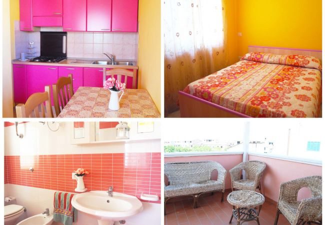 Appartamento a Isola di Capo Rizzuto - CASA VACANZE CALABRIA : Mare Chiaro Rosa