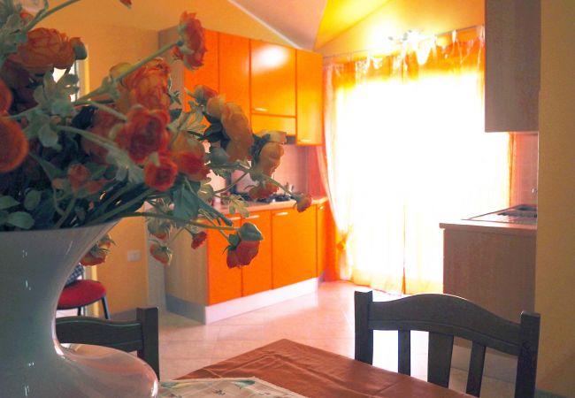 Appartamento a Isola di Capo Rizzuto - JAPIGIUM CASA VACANZE MARE CHIARO ARANCIO| APPARTAMENTI VACANZE CALABRIA